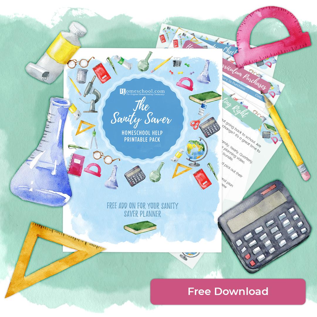 Homeschooling Organization Printable