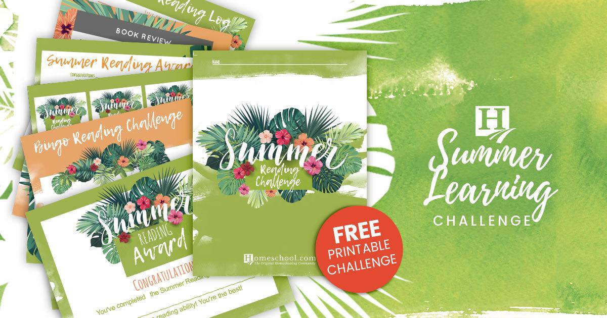 Homeschool Summer Reading Challenge Contest!