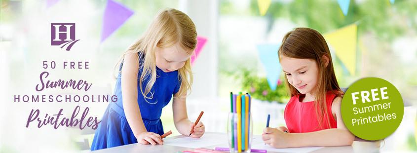 50 Free Summer Homeschooling Printable Activities For Kids – Homeschool.com