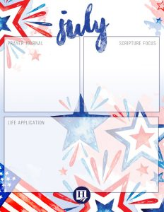Homeschool Printable Journal