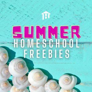 Summer Homeschool freebies
