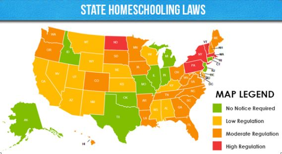 State Homeschooling Regulations