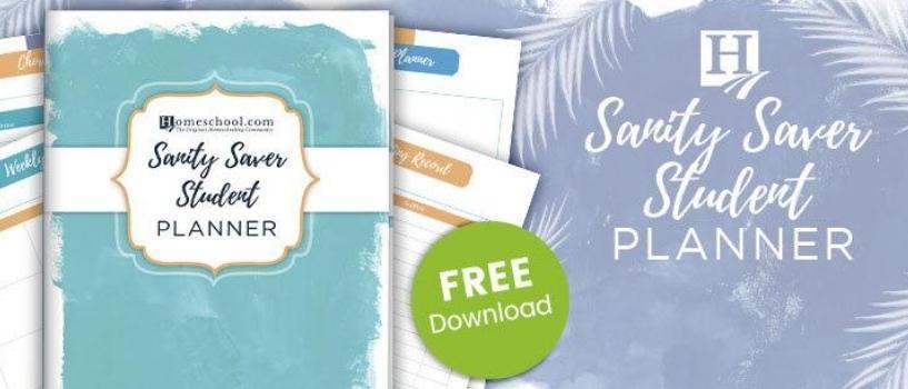 Free Teen Homeschooling Planner