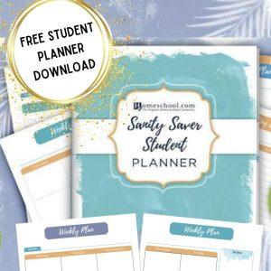 Student Homeschool Planner