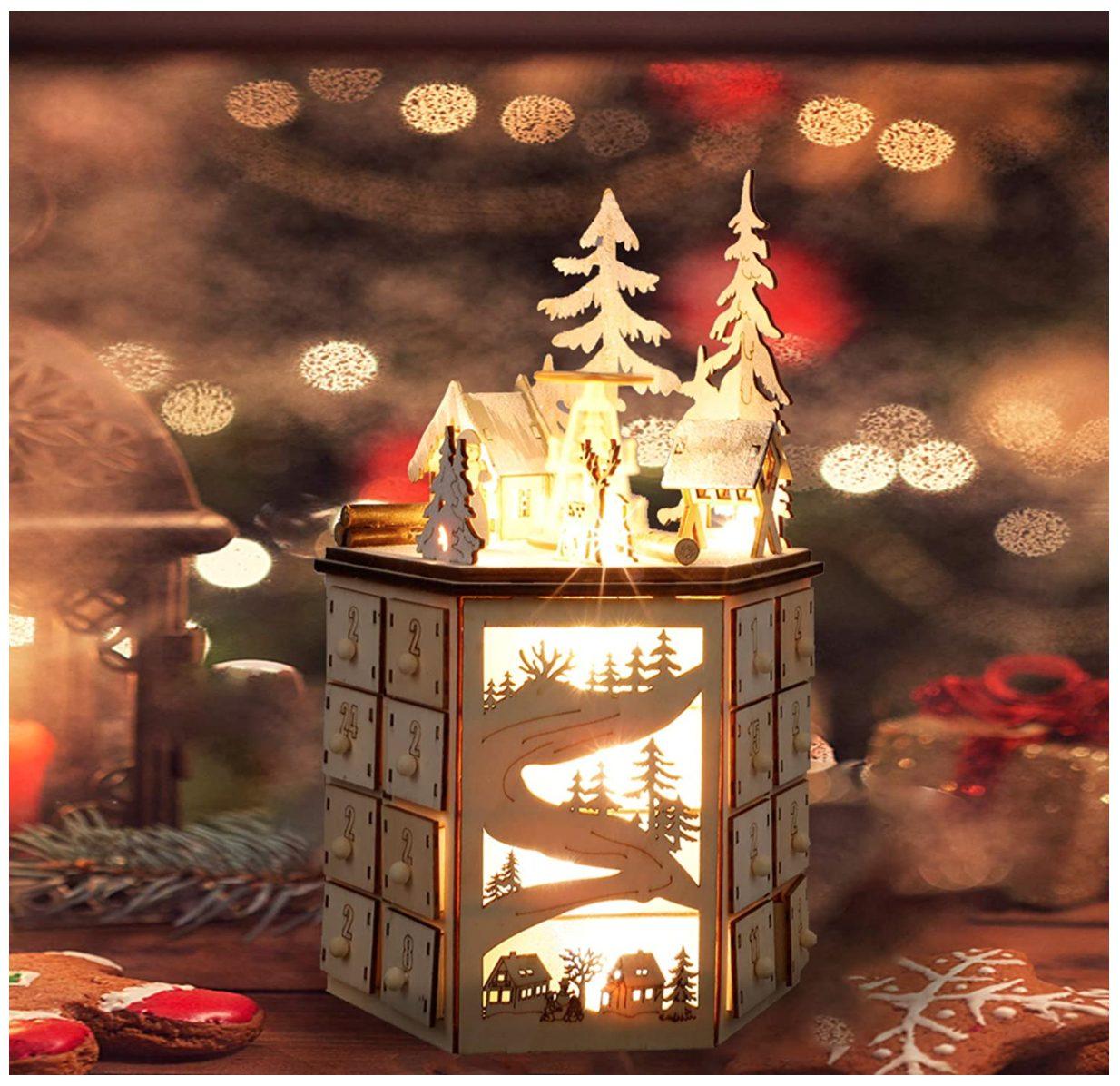 Illuminated Christmas Advent Calendar