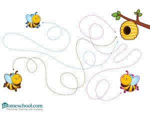 Preschool Printable Line Drawing