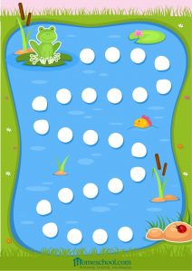 Preschool Printable Patch Game