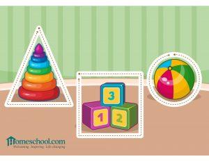 Preschool Printable Learn the Shapes