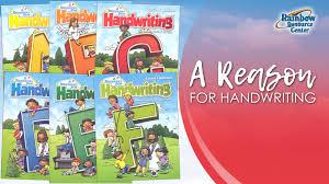 A Reason for Handwriting Homeschool Curriculum